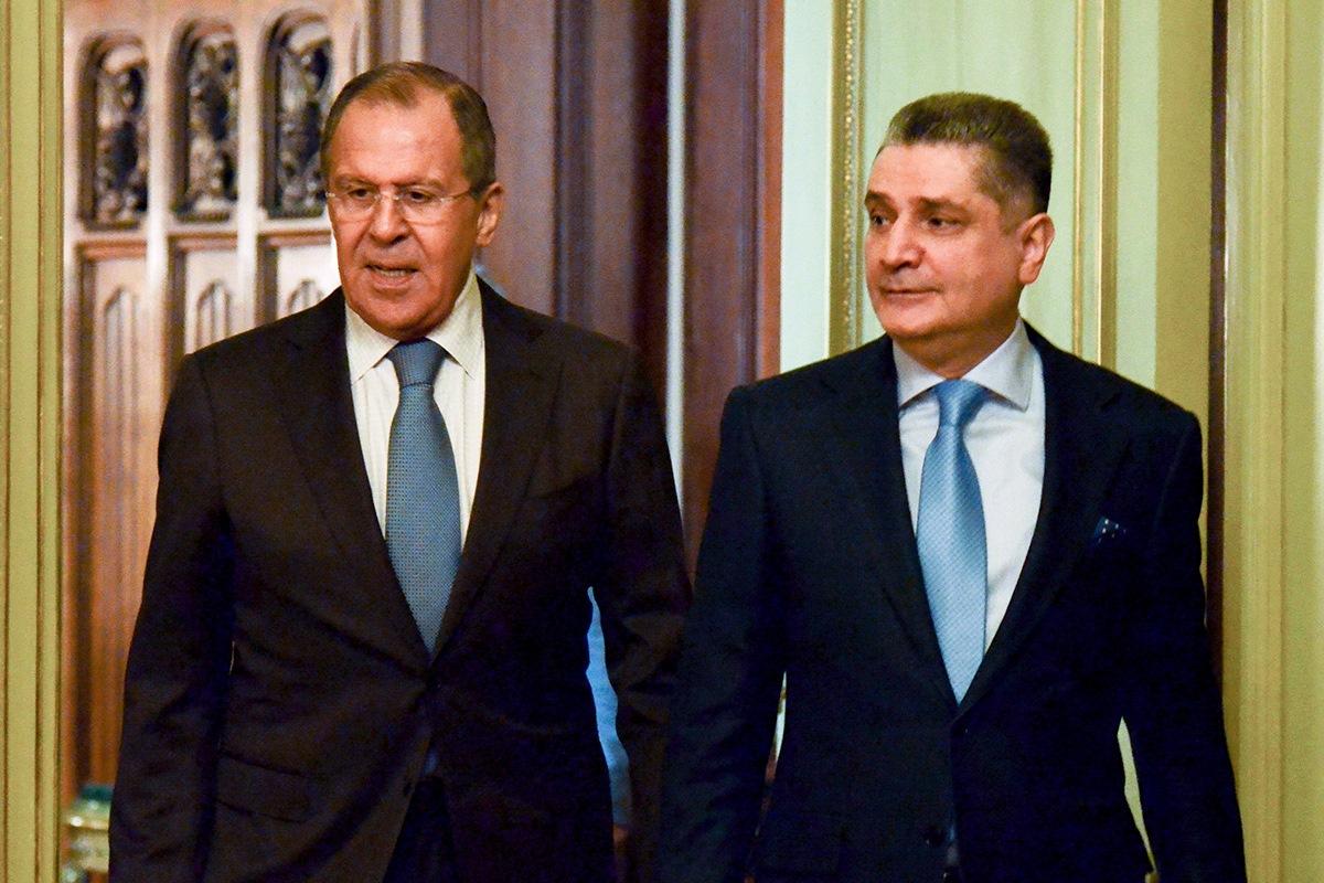 Лавров иСаркисян обсудили углубление отношений ЕврАзЭС стретьими странами