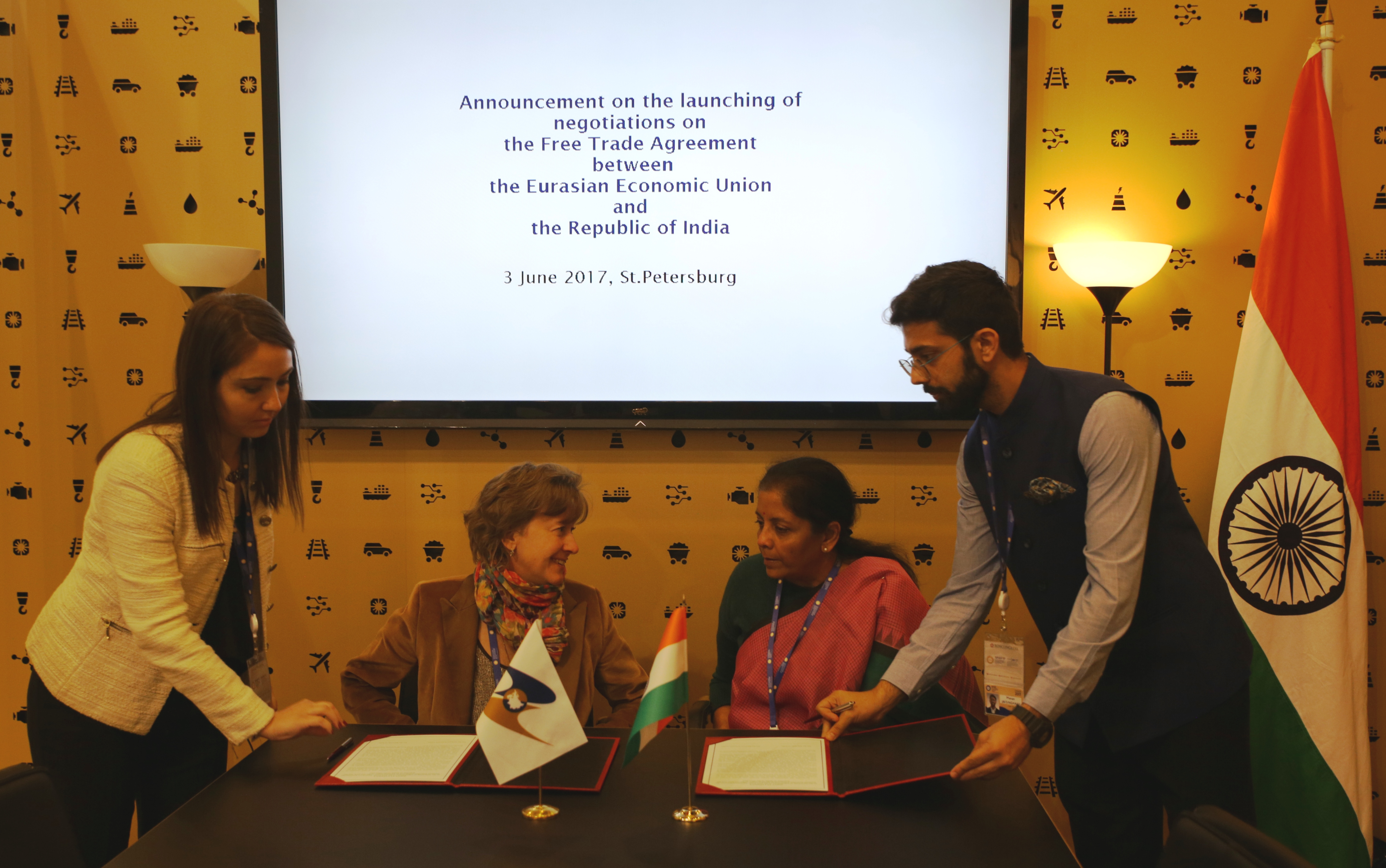 Eaeu And India Began Formal Negotiations On A Free Trade Agreement