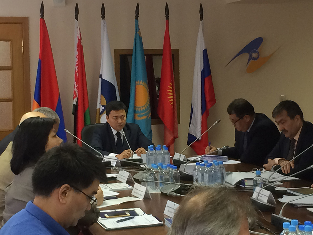 Министр ЕЭК Данил Ибраев обсудил с представителями кыргызских диаспор и предпринимателями вопросы трудовой миграции и развития предпринимательской деятельности граждан Кыргызстана на территории ЕАЭС