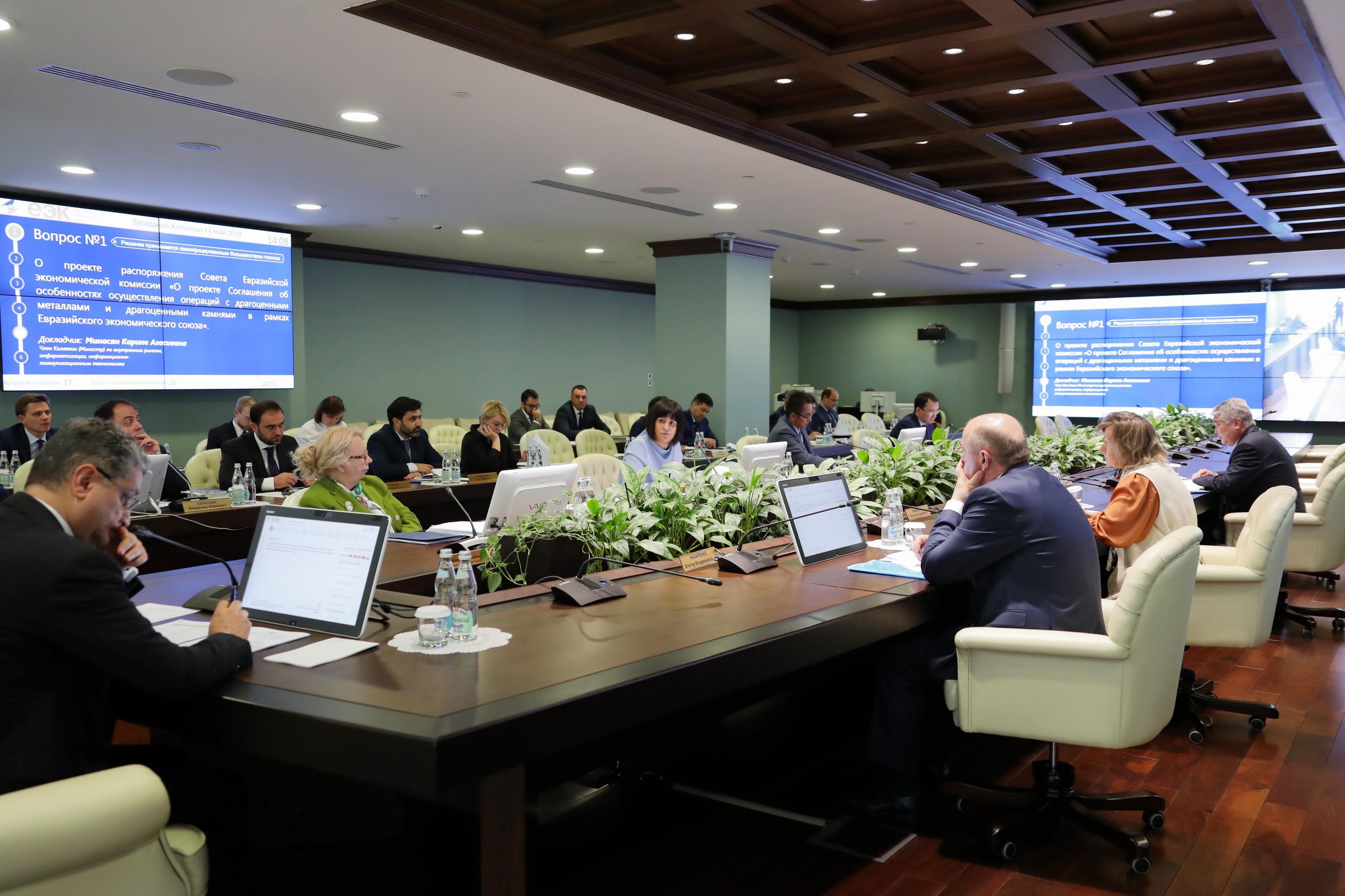 20.05.2019 В ЕАЭС будет реализован проект «Евразийская сеть промышленной кооперации, субконтрактации и трансфера технологий»