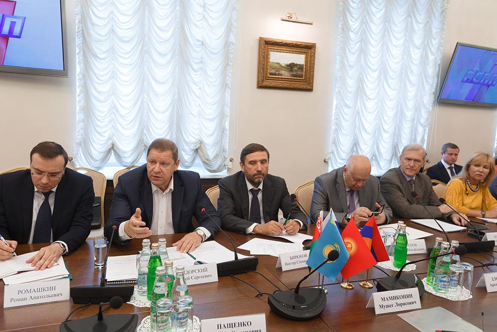 ЕЭК совместно с экспертами обсудила вопросы конкурентоспособности агропромышленного комплекса стран ЕАЭС